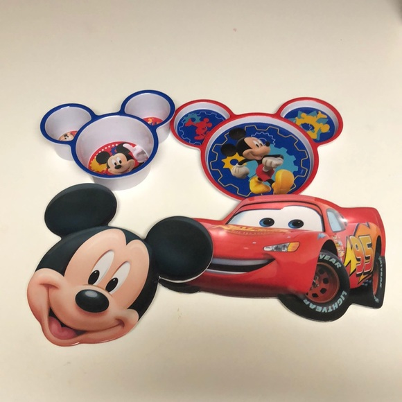 3/$10. Mickey Mouse/ Cars Plates